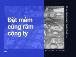 Đặt mâm cúng rằm cho công ty Bình Thạnh, TPHCM