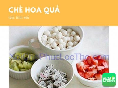 Cách làm chè hoa quả đãi khách tiệc thôi nôi, 182, Huyền Nguyễn, Xôi Chè Phúc Lộc Thọ, 07/10/2016 16:52:28