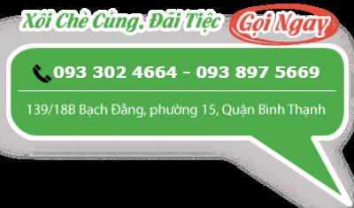 Xôi gấc đậu xanh Phúc Lộc Thọ, 318, Võ Thiện By, Xôi Chè Phúc Lộc Thọ, 07/10/2016 18:39:45